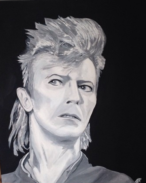 David Bowie by Kevsart